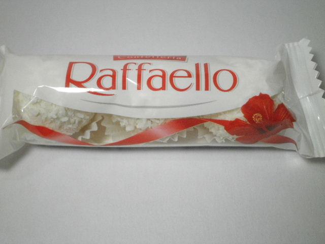 イタリアのお菓子: 「フェレロ ラファエロ」を食べる!