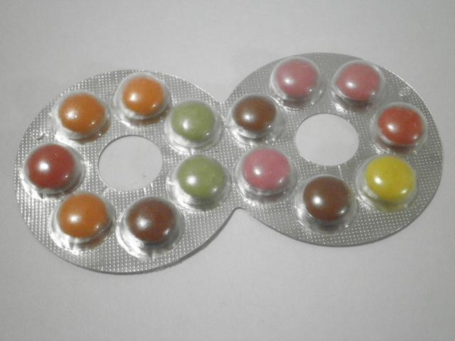 メガネ型の駄菓子:「フルタ ハイエイトチョコレート」を食べる!