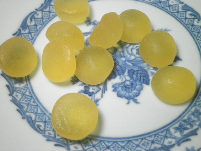 ライオン菓子ゆずグミ3