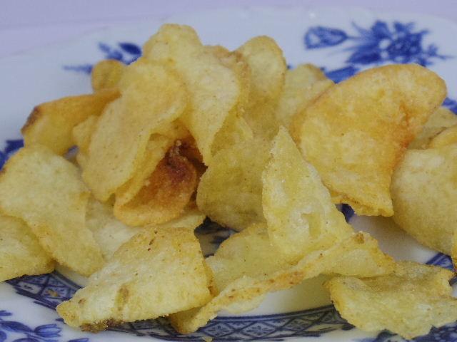 堅あげポテト-鶏だしぽん酢味5