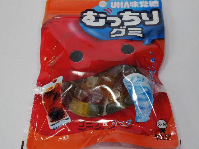 今回のおやつ:UHA味覚糖の「むっちりグミ」を食べる!