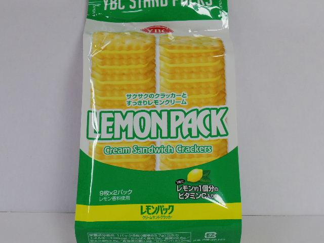 今回のおやつ:ヤマザキビスケット「レモンパック クリームサンドクラッカー」を食べる!