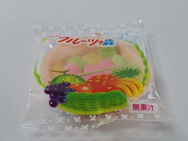 今回のおやつ:共親製菓の「フルーツの森」を食べる!