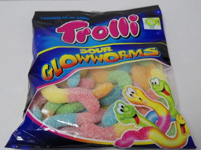 今回のおやつ:「トローリ サワーグローワームス」を食べる!