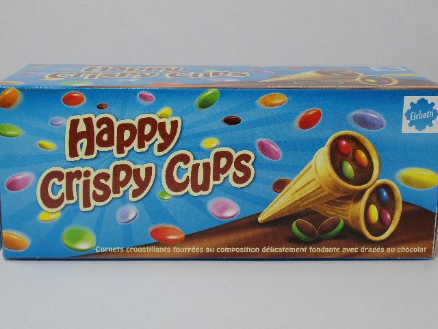 ドイツのお菓子:Eichetti「ハッピークリスピーカップ」を食べる!