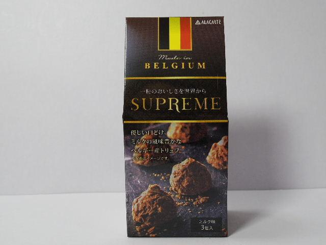 今回のおやつ:アラカルトの「スプリーム ベルジャンフレークトリュフ」を食べる!