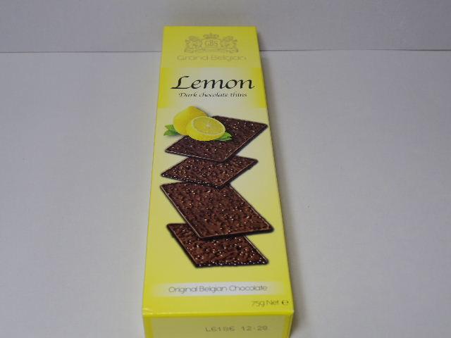 輸入菓子:Grand Belgian「チョコレートシン ダークレモン」を食べる!