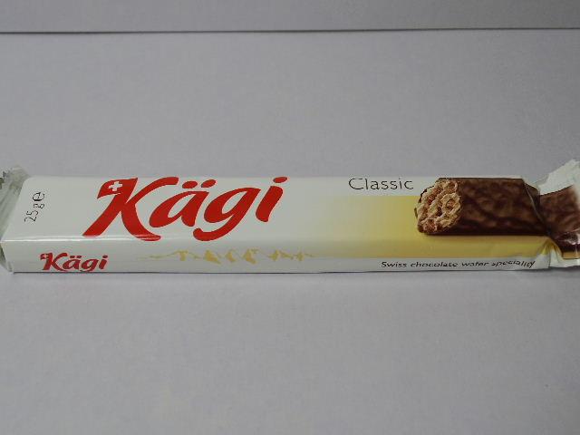 スイスのお菓子:Kägiの「カーギ ミルクバー」を食べる!