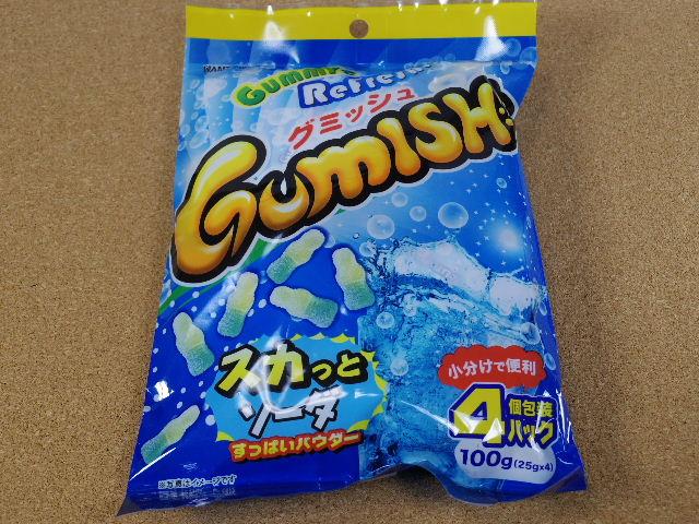 グミッシュ スカッとソーダ1