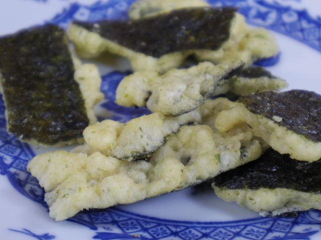 箸のない天ぷら屋 のりわさび醤油5