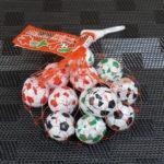 今回のおやつ:高岡食品「サッカーボール型チョコレート ネットイン」を食べる!を食べる