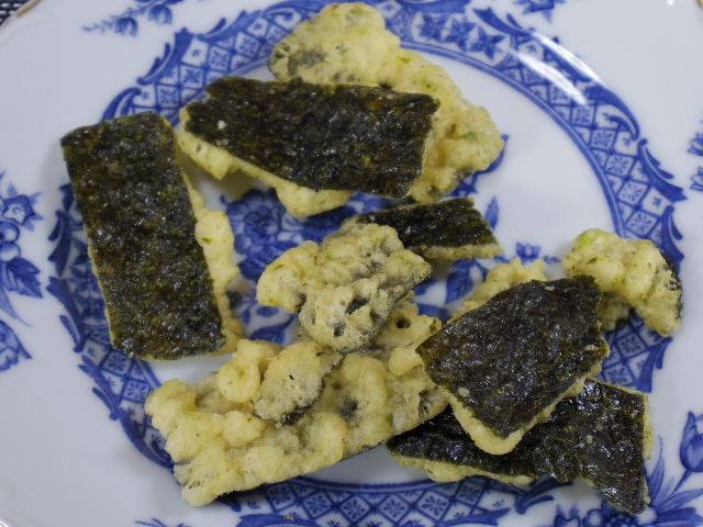 箸のない天ぷら屋 のりわさび醤油4