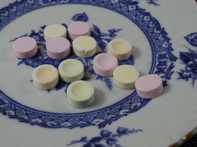 無印良品 優しい昔菓子ぶどう糖のラムネ2