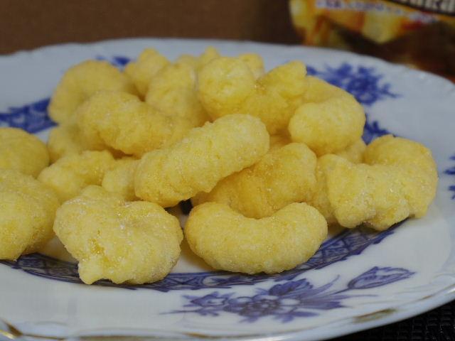 キャラメルコーン フルーツ牛乳4