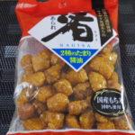 今回のおやつ:栗山米菓の「渚あられ しょうゆ味」を食べる!