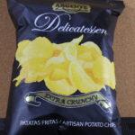 今回のおやつ:「ARGENTE Delicatessen ポテトチップス」を食べる。
