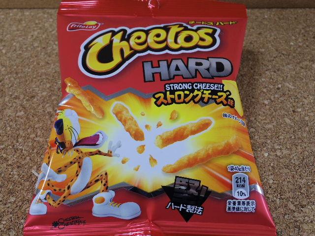 チートスハードストロングチーズ味1