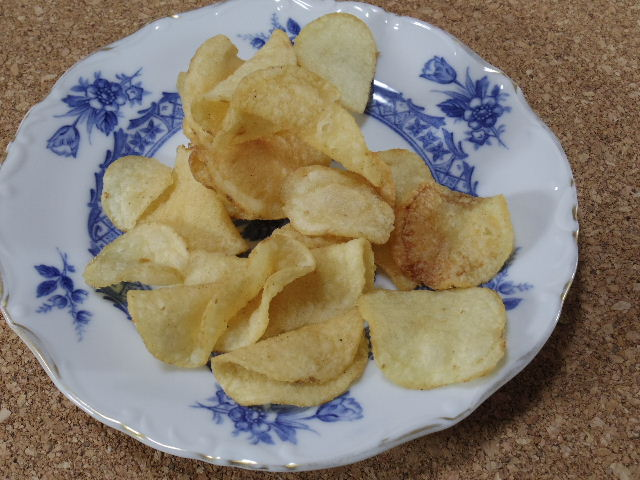 堅あげポテト 甘辛鶏の山椒焼き味3