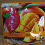今回のおやつ:UHA味覚糖の「さつまんま マンゴーミックス」を食べる!