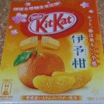 今回のおやつ:ネスレの「キットカット 伊予柑」を食べる!