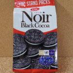 今回のおやつ:YBCの「ノアール ブラックココア」を食べる!