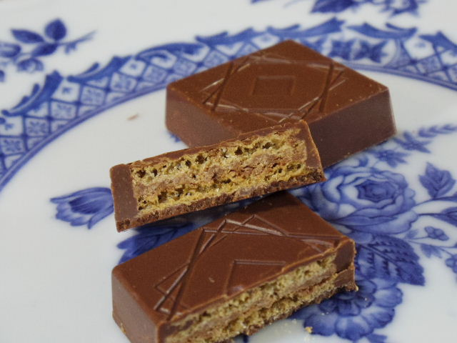 ローソンゴーフレット入りチョコレート5
