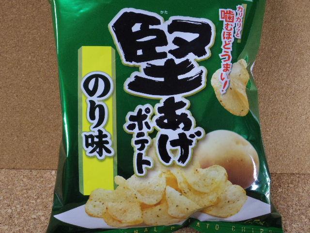 堅あげポテトのり味1