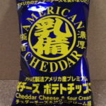 今回のおやつ:「ポテトチップの乳備え・チェダーチーズ&サワークリーム味」を食べる!