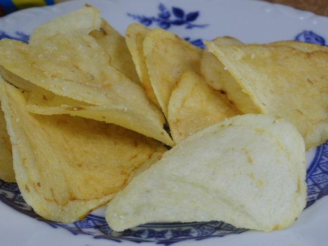 ヤマヨシポテトチップ クリームソーダ味9
