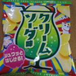 今回のおやつ:山芳製菓の「ポテトチップス クリームソーダ味」を食べる!