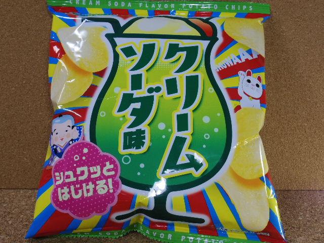 ヤマヨシポテトチップ クリームソーダ味1