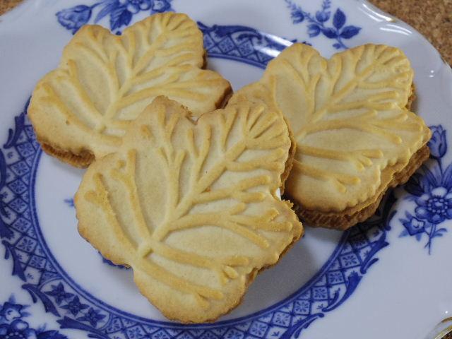 メイプルリーフクリームクッキー03