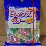 今回のおやつ:足立産業の「ミックスゼリー フルーツ味」を食べる!