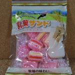 今回のおやつ:丸一製菓の「乳菓サンド」を食べる!