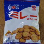 今回のおやつ:野村煎豆の「ミレービスケット」を食べる!