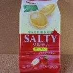 今回のおやつ:東ハトの「ソルティ アップル」を食べる!