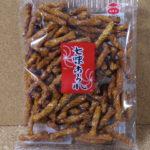 今回のおやつ:塗壁製菓の「七味あられ」を食べる!