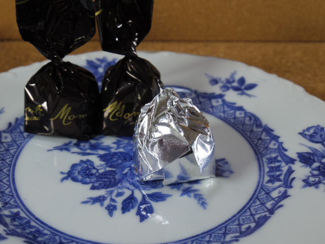Momenti カカオ豆クリーム入り 75%カカオ ダークチョコレート 個包装2