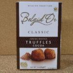 ベルギーのお菓子:「ナトラ ベリジドール ココアダストトリュフ ココア」を食べる!