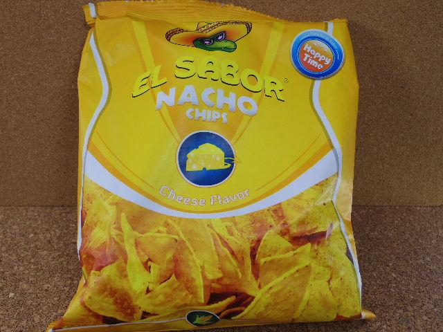 エルサボール ナチョチップ チーズ パッケージ表