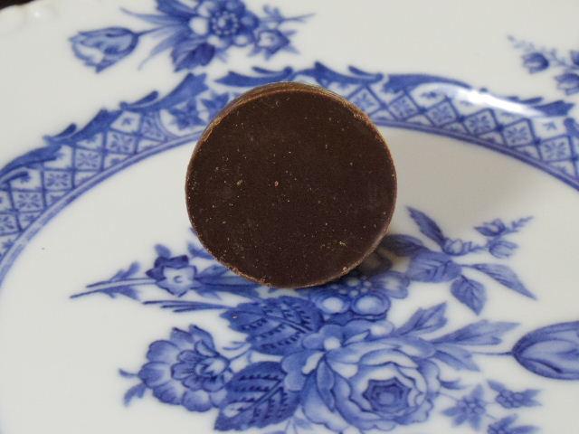 Momenti カカオ豆クリーム入り 75%カカオ ダークチョコレート 中身2