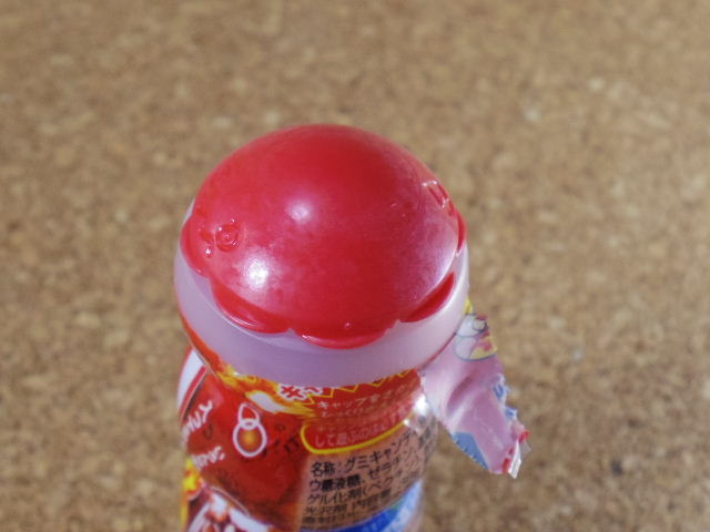 ぷっちょグミ コーラレモン 蓋1