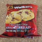 イギリスのお菓子:「ウォーカーショートブレッド チョコチップ」を食べる!