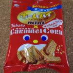 今回のおやつ:不二家の「ホームパイミニ キャラメルコーン味」を食べる!