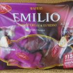 ウクライナのお菓子:ABKの「エミリオ クリーム&エスプレッソ」を食べる!