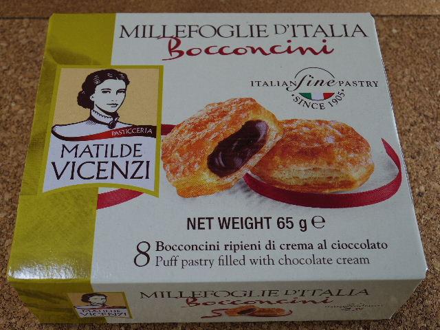 VICENZI ミルフィーユパイ チョコレートクリーム 箱表