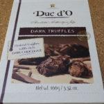 ベルギーのお菓子:「デュックドー(Duc d'O)ダークチョコレートトリュフ」を食べる!