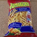 ドイツのお菓子:「ポムスティック ケチャップ」を食べる!!