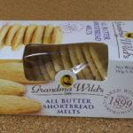 イギリスのお菓子:「グランマワイルズ ショートブレッドメルツ」を食べる!