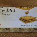 イタリアのお菓子:ラウリエーリ「フロッリーニ ハニービスケット」を食べる!